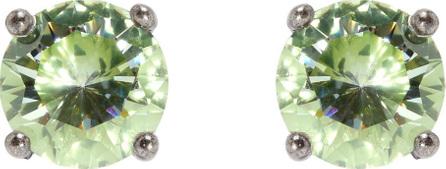 Bottega Veneta Cubic-zirconia and sterling-silver stud earrings