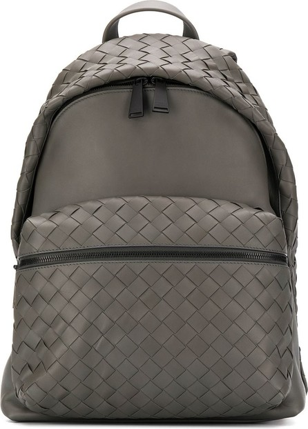 Bottega Veneta Intrecciato detailing backpack