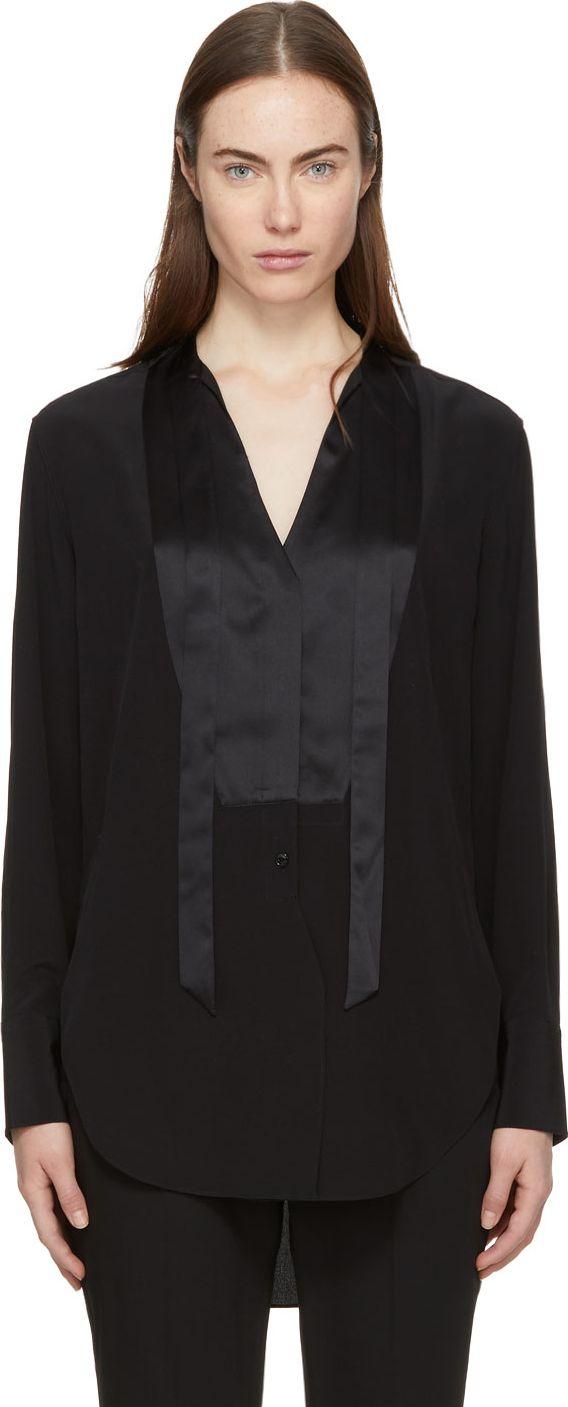 a5a44402bd198 Rag   Bone Black Frida Tux Shirt - Mkt