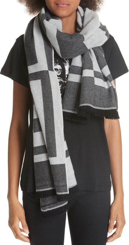 Givenchy Optical 4G Jacquard Wool & Cashmere Scarf