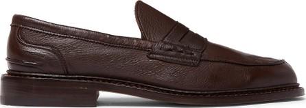 Tricker's Adam Pebble-Grain Leather Penny Loafers