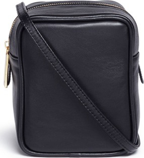 A-Esque 'Micro Container 02' leather crossbody box bag