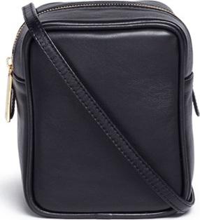 A-Esque 'Micro Container 02' leather crossbody box bag