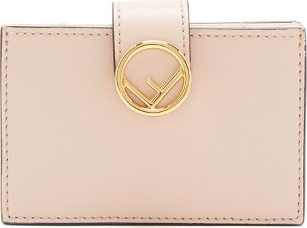 Fendi Logo-embellished expandable cardholder