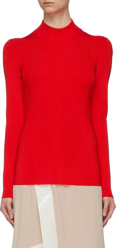 Victoria Beckham Cutout back high neck knit top