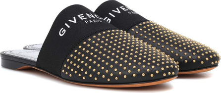 Givenchy Bedford studded leather slippers