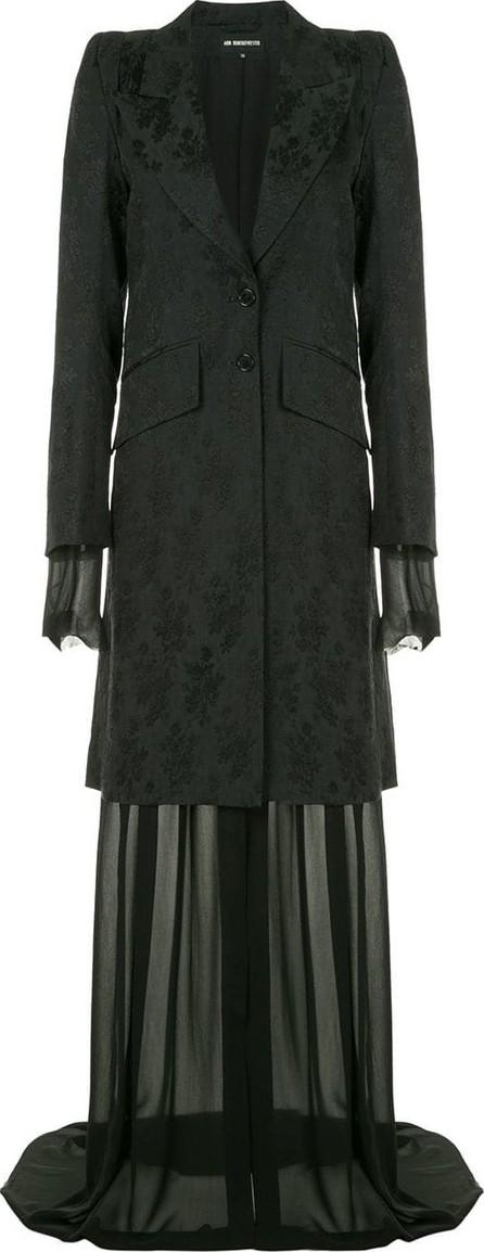 Ann Demeulemeester Layered long jacket