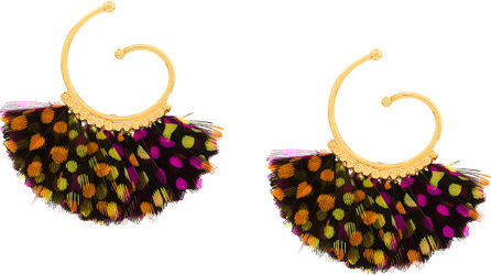 GAS Bijoux Buzios hoop earrings