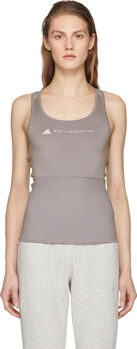 Adidas By Stella McCartney Grey Performance Essentials Tank Top