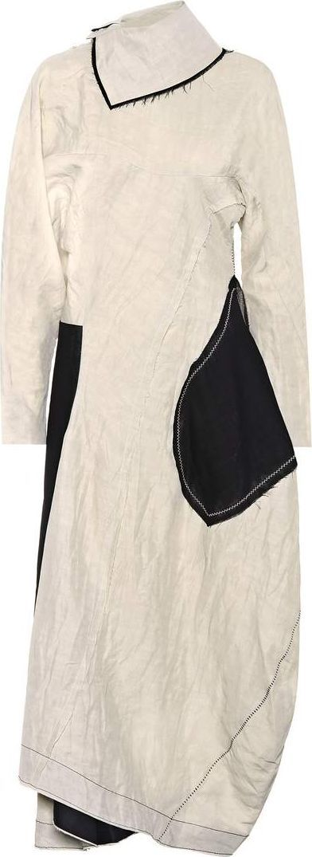 Acne Studios Dragica linen-blend dress