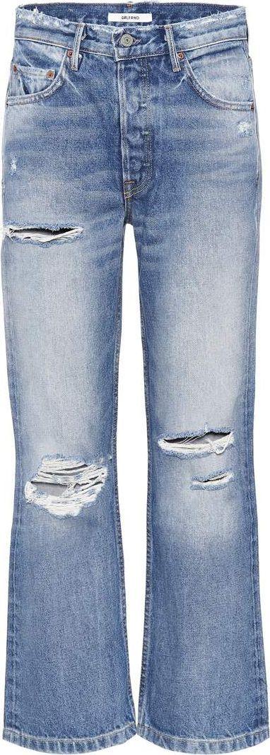 Grlfrnd Linda cropped high-waisted jeans