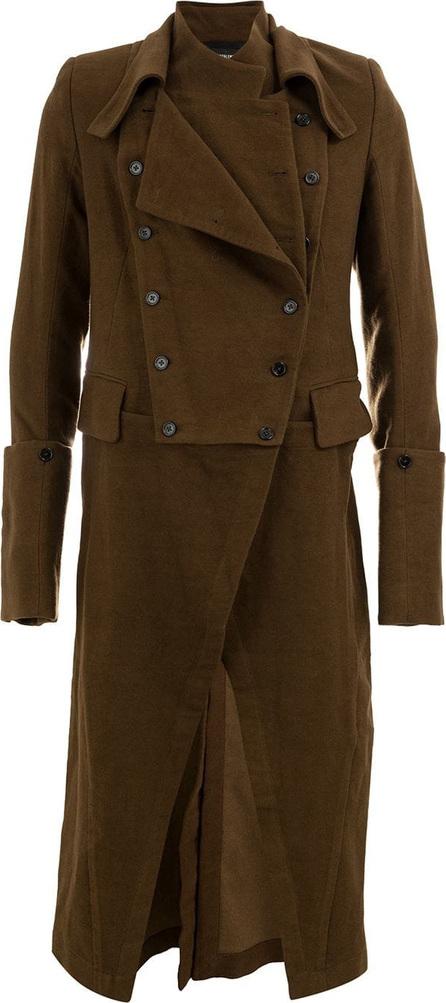 Ann Demeulemeester Draped trench coat