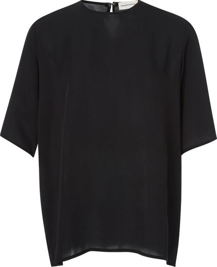 Mansur Gavriel Silk-Jersey Blouse