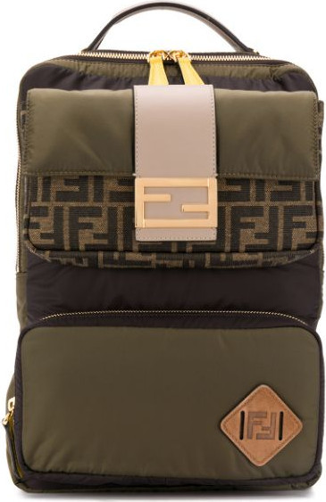 Fendi FF-motif backpack