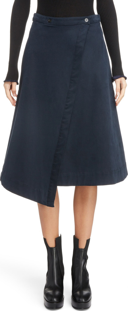 Acne Studios Asymmetrical Wrap Skirt