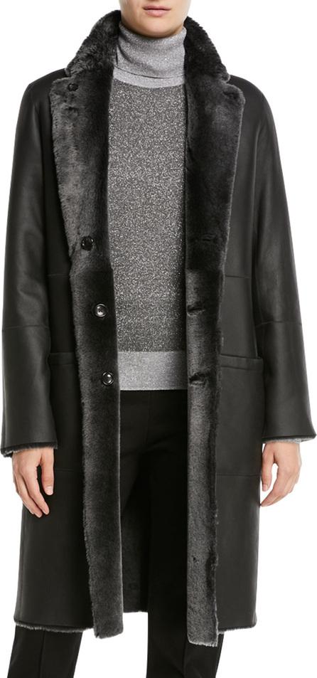 Joseph Brittanny Sheepskin Coat