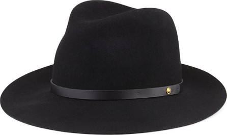 Rag & Bone Floppy Brim Wool Fedora Hat