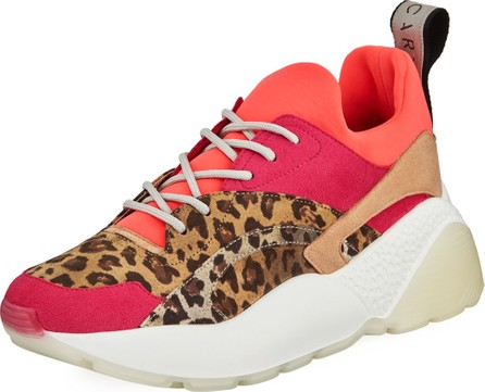 Stella McCartney Eclypse Trainer Animal Sneakers