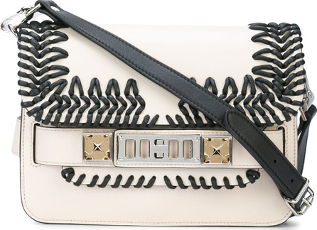 Proenza Schouler Embossed Python Hava Chain Shoulder Bag