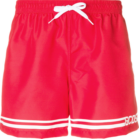 Gcds Drawstring swim shorts