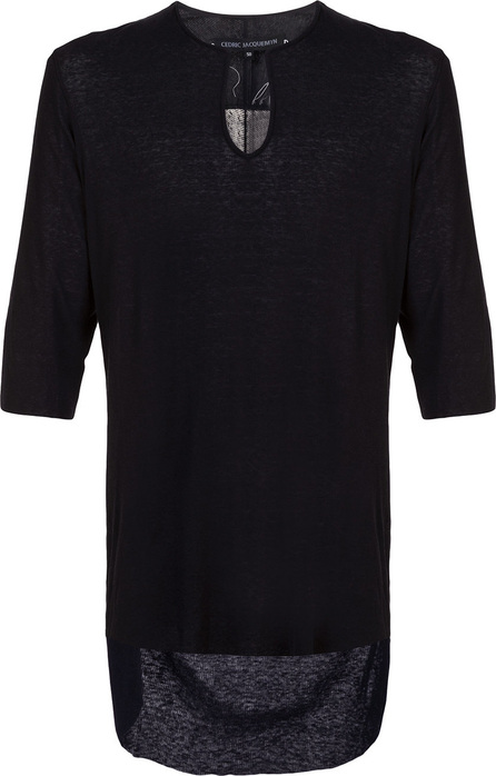 Cedric Jacquemyn Notch neck T-shirt