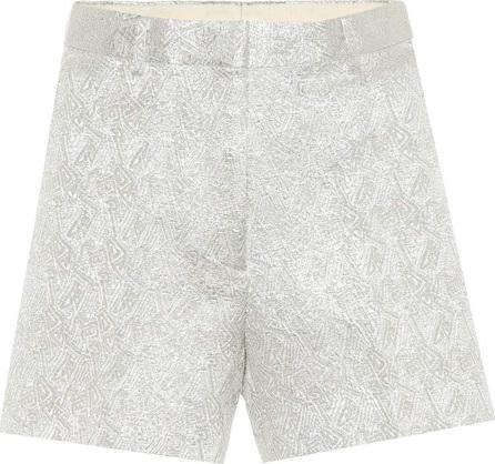 Dries Van Noten Metallic jacquard shorts