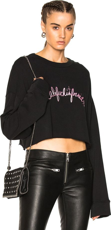 Adaptation Califuckinfornia Cropped Sweatshirt