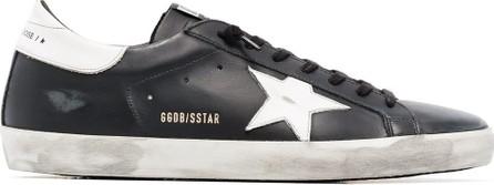 Golden Goose Deluxe Brand Superstar distressed-effect sneakers