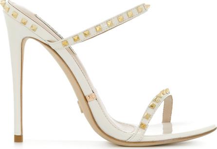 Gianni Renzi Studded open-toe sandals