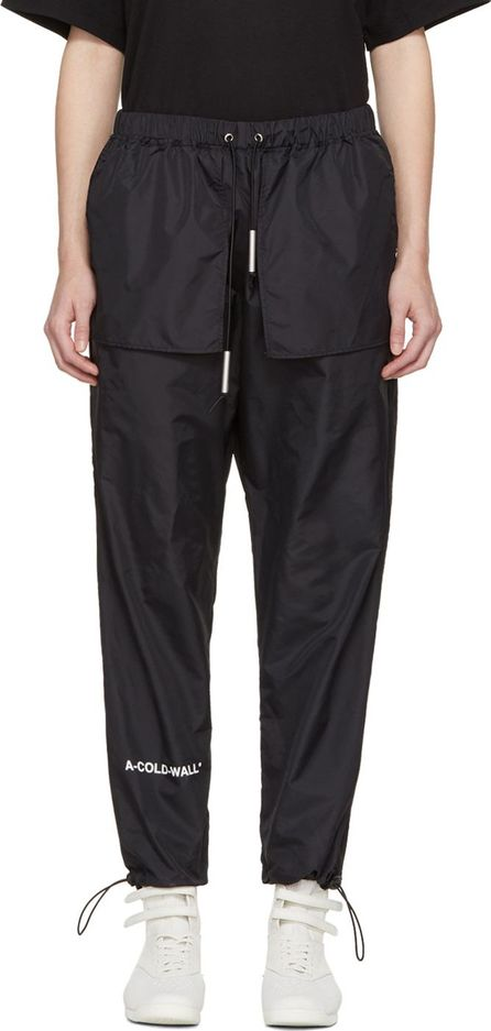 A-Cold-Wall* SSENSE Exclusive Black Technical Nylon Track Pants