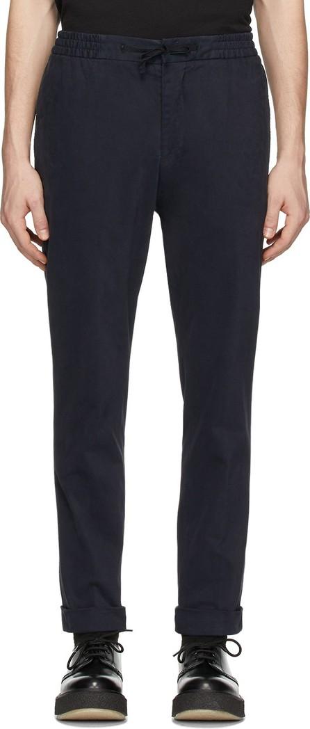 Officine Générale Navy Garment-Dyed Phil Trousers