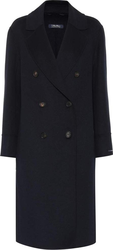 Max Mara India wool and angora coat