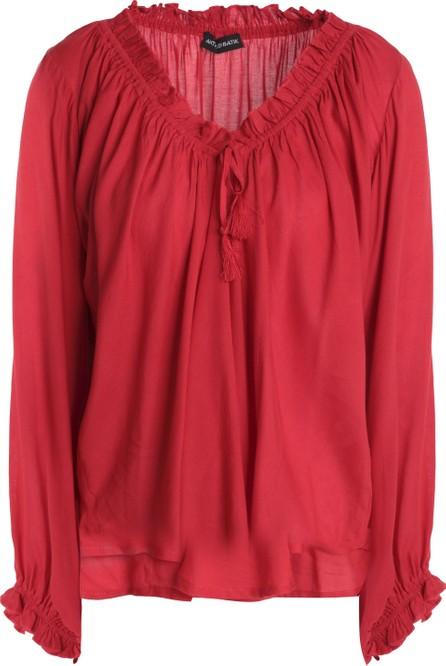 Antik Batik Bowly gathered voile blouse