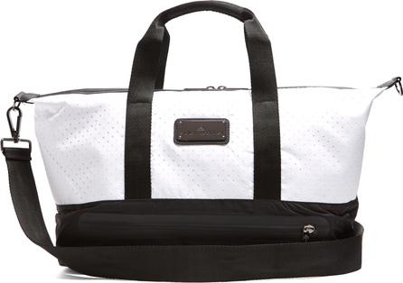 Adidas By Stella McCartney Bi-colour perforated tote bag