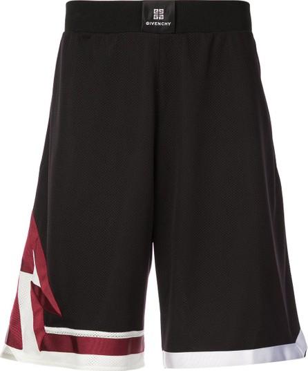 Givenchy elasticated waist shorts
