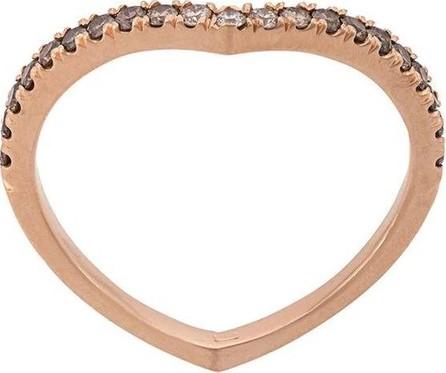 Eva Fehren rose gold Private diamond ring