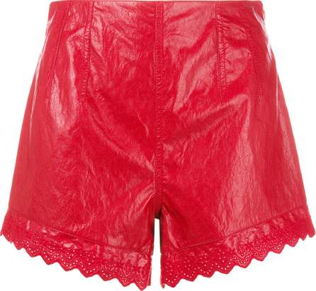 Philosophy Di Lorenzo Serafini Scalloped hem shorts