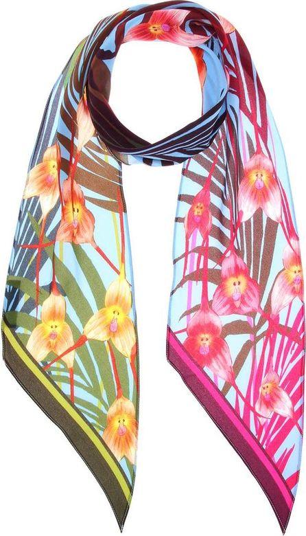 Rockins Monkey Orchid silk scarf