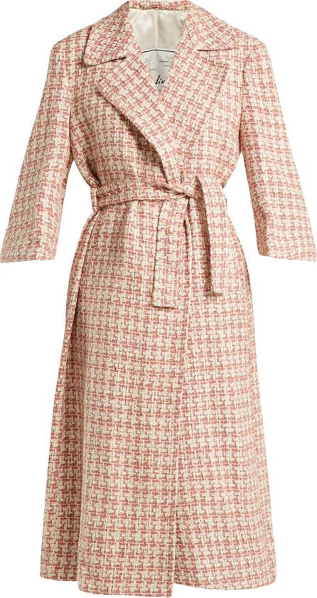 Giuliva Heritage Collection Linda tie-waist tweed coat