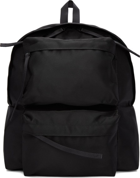 Diet Butcher Slim Skin Black Double Pocket Backpack