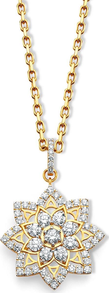 Buddha Mama 20k Gold Diamond Mandala Pendant