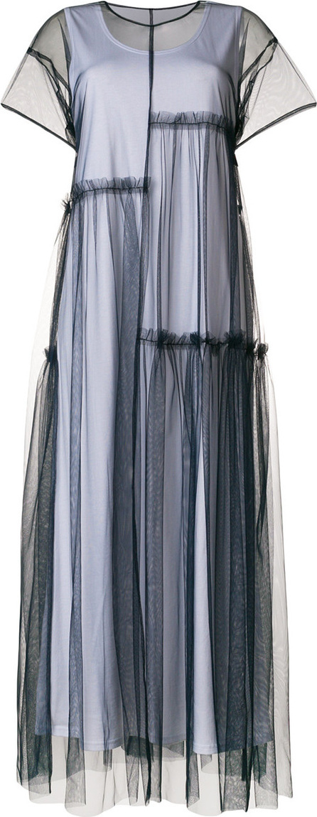 P.A.R.O.S.H. Panelled tulle dress