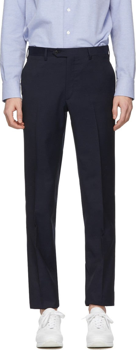 Brioni Navy Formal Trousers