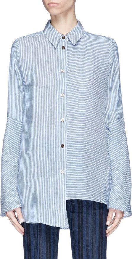 Acne Studios 'Balzac' stripe linen-modal shirt