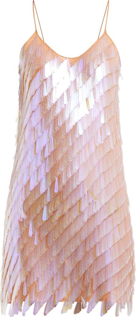 ASHISH Teardrop-sequinned mini dress