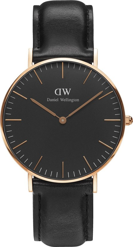 Daniel Wellington 36mm Classic Black Sheffield Watch