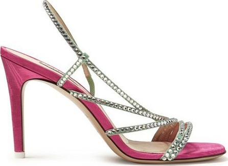Attico Baby crystal-embellished sandals