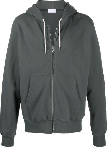 John Elliott Oversized zipped front hoodie