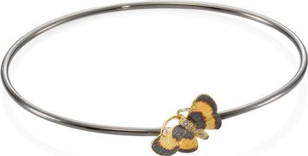 Annoushka 18K Gold & Diamond Butterfly Bug Bangle