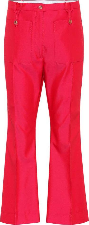 Golden Goose Deluxe Brand Selene cotton-blend twill trousers
